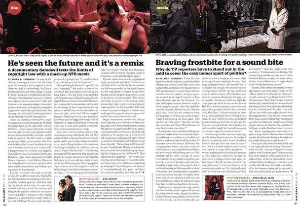 Article Preview: He's seen the future and it's a remix, MAR. 16th 2009 2009 | Maclean's