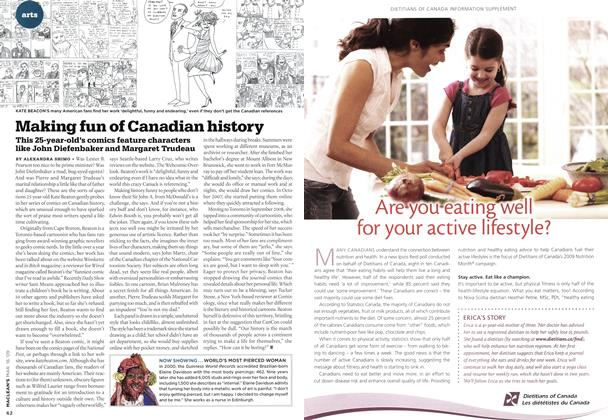 Article Preview: Making fun of Canadian history, MAR. 16th 2009 2009 | Maclean's
