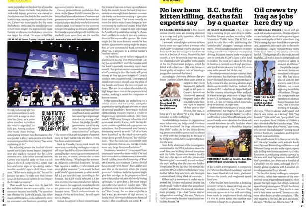 Article Preview: B.C. traffic deaths fall by a quarter, MAR. 23rd 2009 2009 | Maclean's