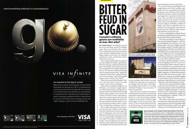 Article Preview: BITTER FEUD IN SUGAR, MAR. 23rd 2009 2009 | Maclean's