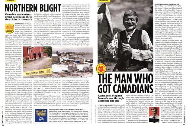 Article Preview: THE MAN WHO GOT CANADIANS, MAR. 23rd 2009 2009 | Maclean's