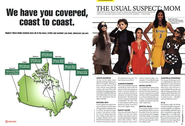 Article Preview: THE USUAL SUSPECT: MOM, MAR. 23rd 2009 2009 | Maclean's