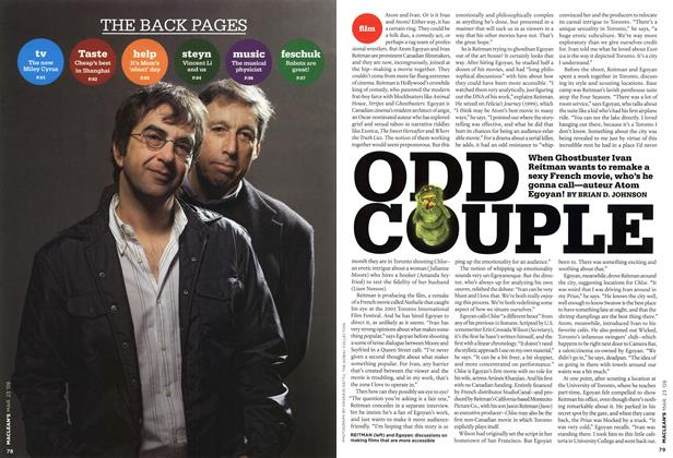 Article Preview: ODD COUPLE, MAR. 23rd 2009 2009 | Maclean's