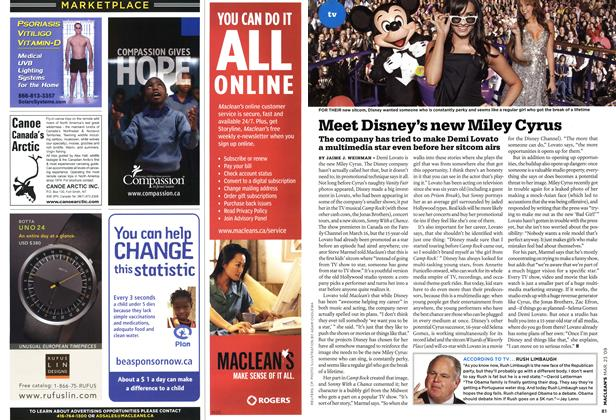 Article Preview: Meet Disney's new Miley Cyras, MAR. 23rd 2009 2009 | Maclean's