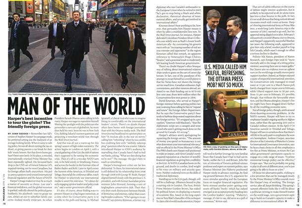Article Preview: MAN OF THE WORLD, APR. 6th 2009 2009 | Maclean's