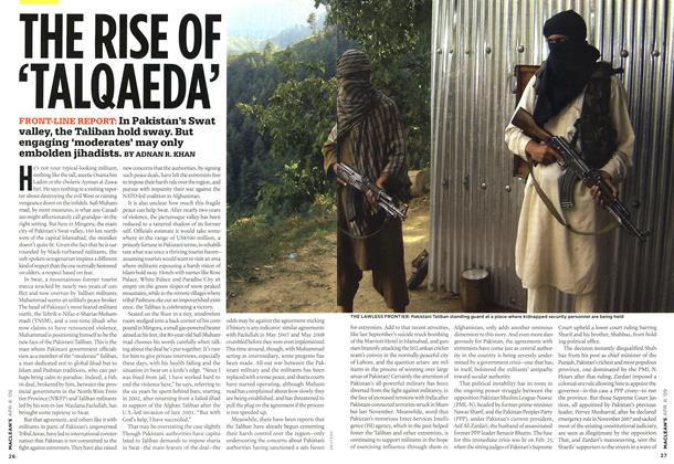 Article Preview: THE RISE OF 'TALQAEDA', APR. 6th 2009 2009 | Maclean's