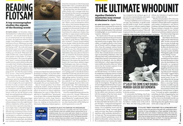 Article Preview: THE ULTIMATE WHODUNIT, APR. 6th 2009 2009 | Maclean's