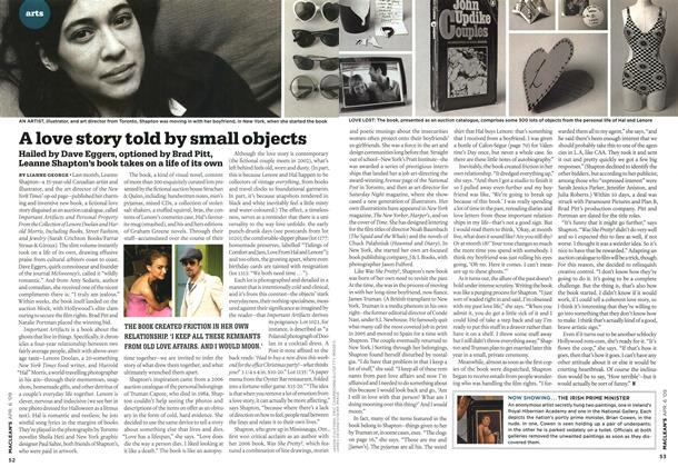 Article Preview: A love story told by small objects, APR. 6th 2009 2009 | Maclean's