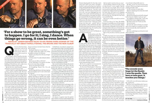Article Preview: INTERVIEW, April 2009 | Maclean's
