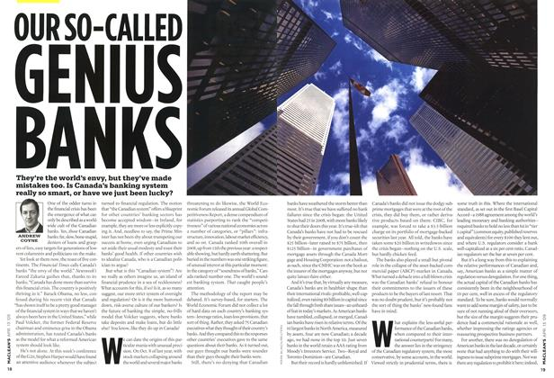 Article Preview: OUR SO-CALLED GENIUS BANKS, April 2009 | Maclean's