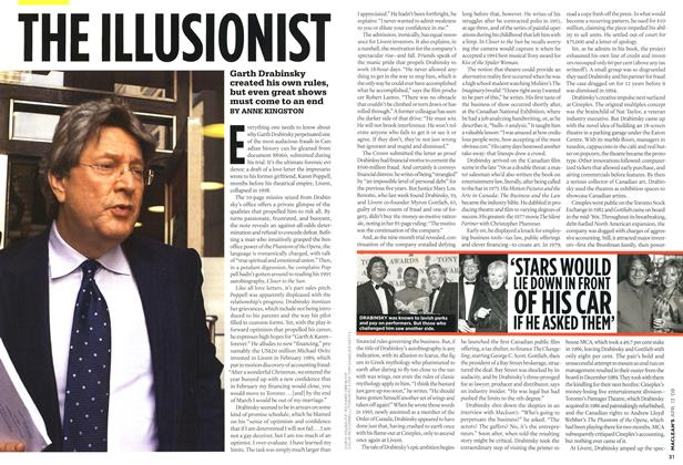 Article Preview: THE ILLUSIONIST, April 2009 | Maclean's