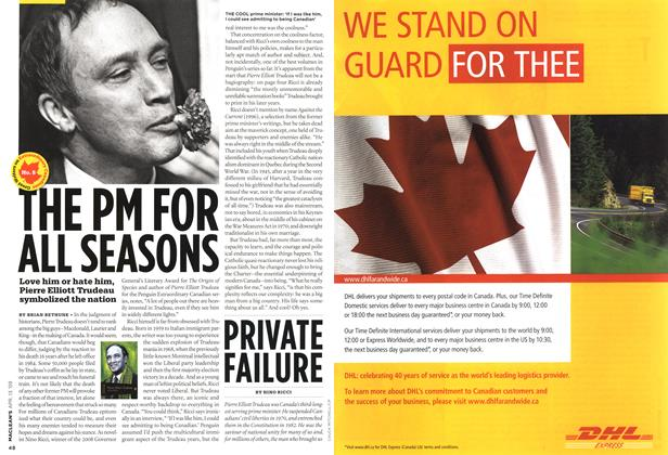 Article Preview: THE PM FOR ALL SEASONS, April 2009 | Maclean's
