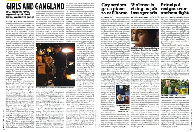 Article Preview: GIRLS AND GANGLAND, APR. 20th 2009 2009 | Maclean's