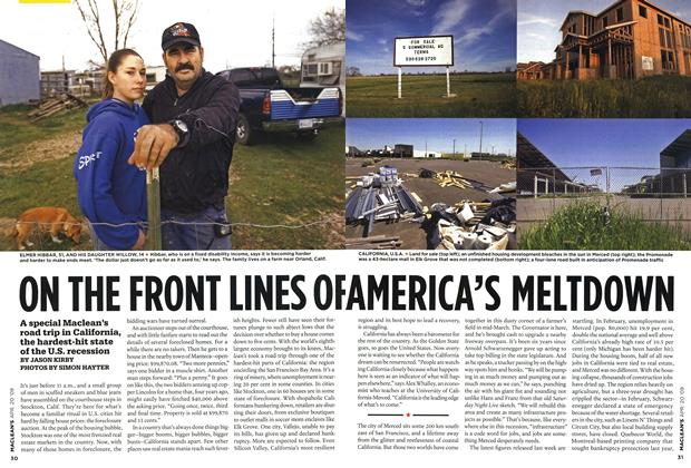 Article Preview: ON THE FRONT LINES OF AMERICA'S MELTDOWN, APR. 20th 2009 2009 | Maclean's