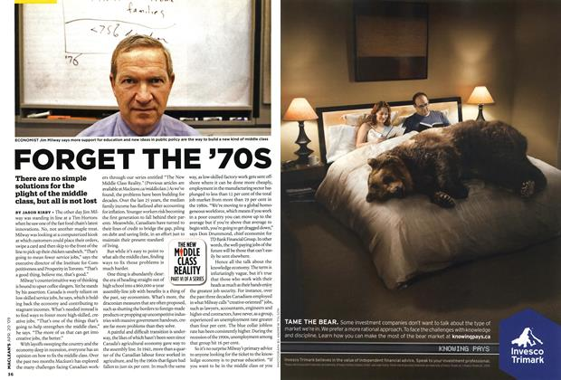 Article Preview: FORGET THE '70S, APR. 20th 2009 2009 | Maclean's