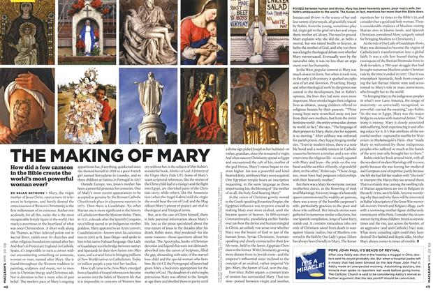 Article Preview: THE MAKING OF MARY, APR. 20th 2009 2009 | Maclean's