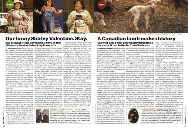 Article Preview: Our funny Shirley Valentine. Stay., APR. 20th 2009 2009 | Maclean's
