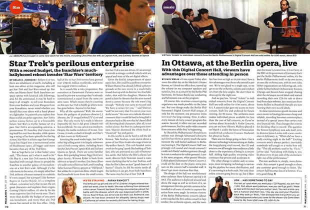 Article Preview: In Ottawa, at the Berlin opera, live, APR. 20th 2009 2009 | Maclean's