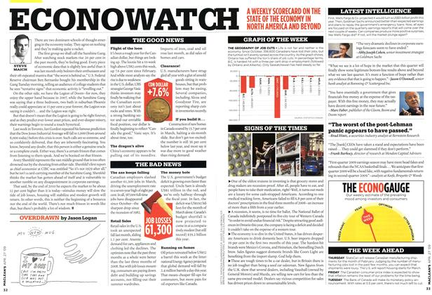 Article Preview: OVERDRAWN, APR. 27th 2009 2009 | Maclean's