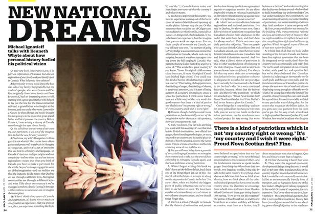 Article Preview: NEW NATIONAL DREAMS, APR. 27th 2009 2009 | Maclean's