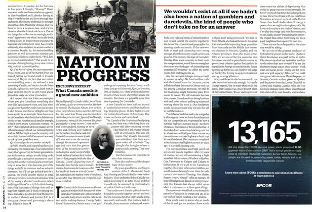 Article Preview: NATION IN PROGRESS, APR. 27th 2009 2009 | Maclean's