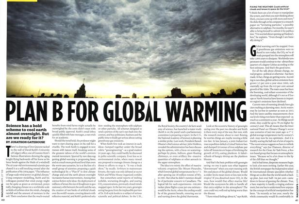 Article Preview: PLAN B FOR GLOBAL WARMING, APR. 27th 2009 2009 | Maclean's