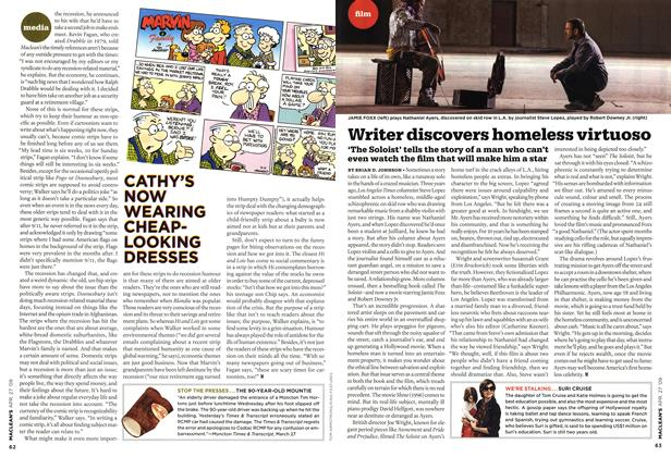 Article Preview: Writer discovers homeless virtuoso, APR. 27th 2009 2009 | Maclean's