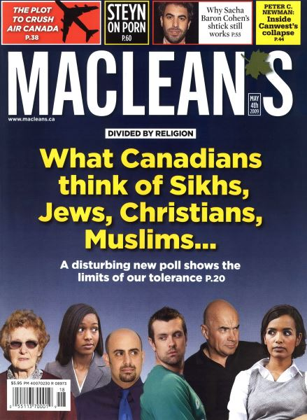 Issue: - MAY 4th 2009 | Maclean's
