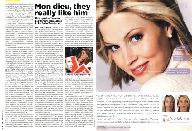 Article Preview: Mon dieu, they really like him, MAY 4th 2009 2009 | Maclean's
