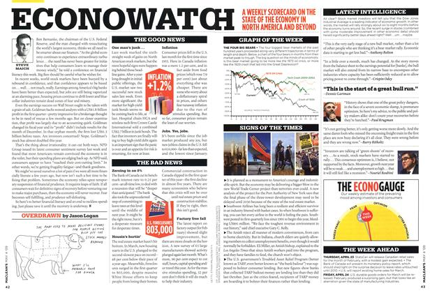 Article Preview: OVERDRAWN, MAY 4th 2009 2009 | Maclean's