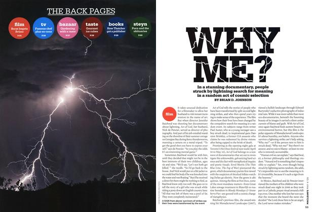 Article Preview: WHY ME?, MAY 4th 2009 2009 | Maclean's