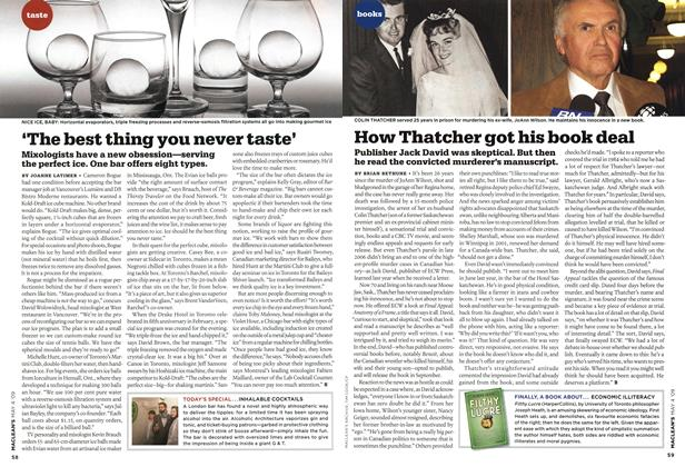 Article Preview: 'The best thing you never taste', MAY 4th 2009 2009 | Maclean's