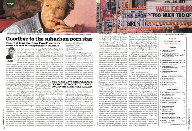 Article Preview: Goodbye to the suburban porn star, MAY 4th 2009 2009 | Maclean's