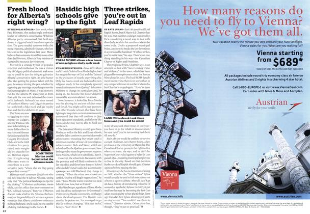 Article Preview: Hasidic high schools give up the fight, MAY 11th 2009 2009 | Maclean's