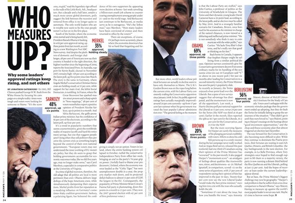 Article Preview: WHO MEASURES up?, MAY 11th 2009 2009 | Maclean's