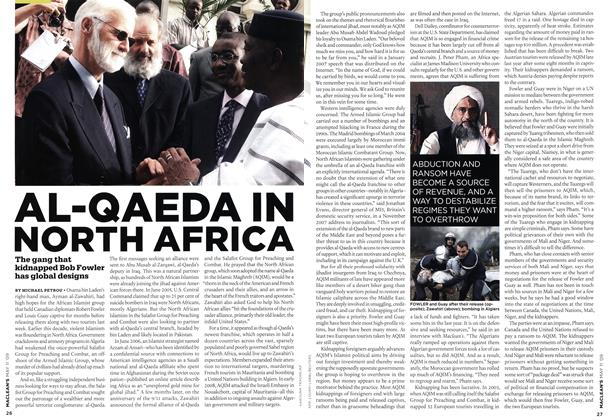 Article Preview: AL-QAEDA IN NORTH AFRICA, MAY 11th 2009 2009 | Maclean's
