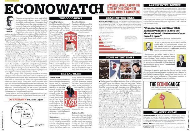 Article Preview: ECONOWATCH, MAY 11th 2009 2009 | Maclean's