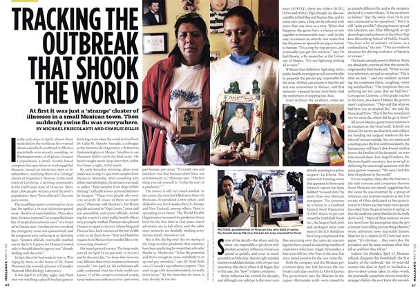 Article Preview: TRACING THE OUTBREAK THAT SHOOK THE WORLD, MAY 11th 2009 2009 | Maclean's