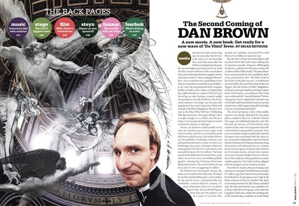 Article Preview: The Second Coming of DAN BROWN, MAY 11th 2009 2009 | Maclean's