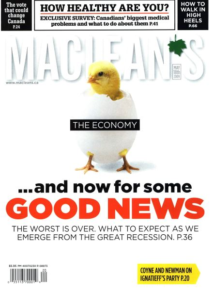 Issue: - MAY 18th 2009 | Maclean's