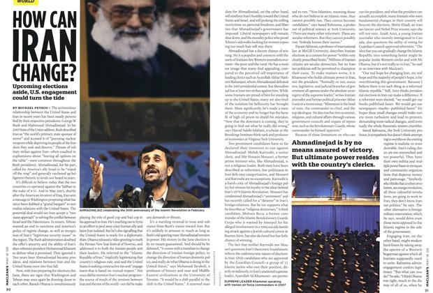 Article Preview: HOW CAN IRAN CHANGE?, MAY 18th 2009 2009 | Maclean's