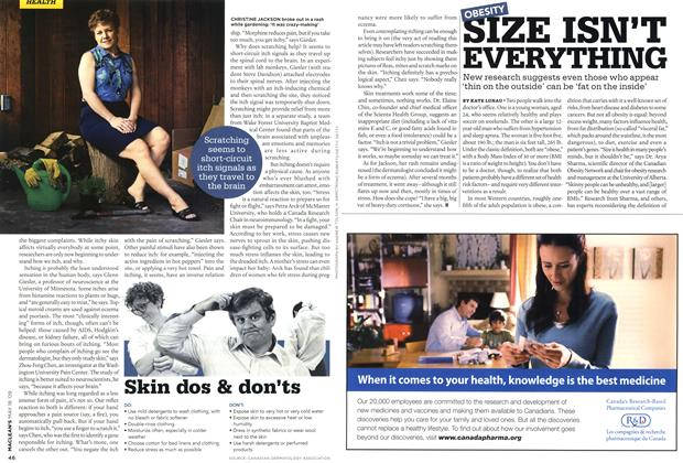 Article Preview: SIZE ISN'T EVERYTHING, MAY 18th 2009 2009 | Maclean's
