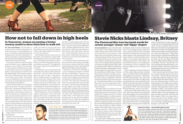 Article Preview: Stevie Nicks blasts Lindsay, Britney, MAY 18th 2009 2009 | Maclean's