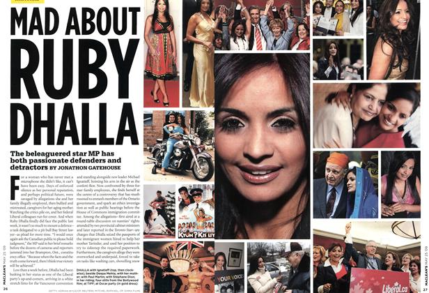 Article Preview: MAD ABOUT RUBY DHALLA, MAY 25th 2009 2009 | Maclean's