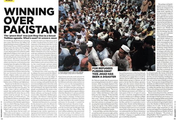 Article Preview: WINNING OVER PAKISTAN, MAY 25th 2009 2009 | Maclean's