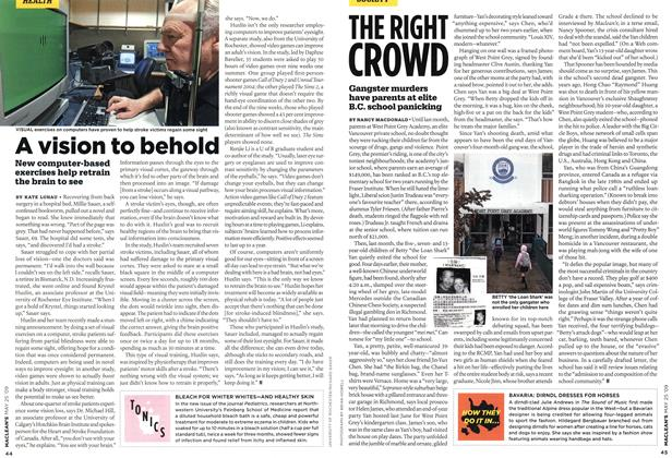 Article Preview: THE RIGHT CROWD, MAY 25th 2009 2009 | Maclean's