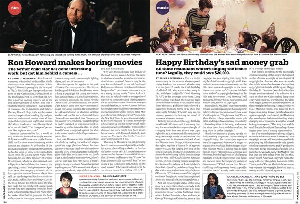 Article Preview: Happy Birthday's sad money grab, MAY 25th 2009 2009 | Maclean's