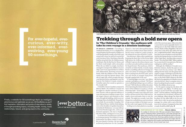 Article Preview: Trekking through a bold new opera, MAY 25th 2009 2009 | Maclean's