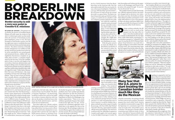 Article Preview: BORDERLINE BREAKDOWN, JUNE 1st 2009 2009 | Maclean's