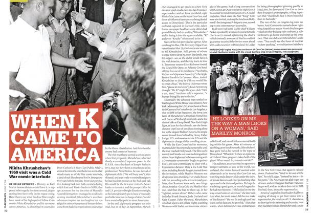 Article Preview: WHEN K CAME TO AMERICA, JUNE 1st 2009 2009 | Maclean's